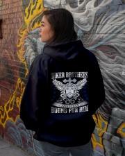 Jesus Motorcycle Hooded Sweatshirt lifestyle-unisex-hoodie-back-1