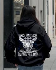 Jesus Motorcycle Hooded Sweatshirt lifestyle-unisex-hoodie-back-2