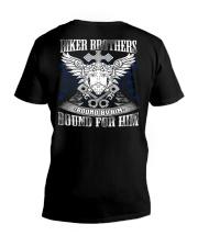 Jesus Motorcycle V-Neck T-Shirt thumbnail
