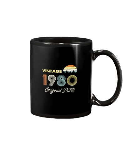 Vintage 1980 Made in 1980 Gift