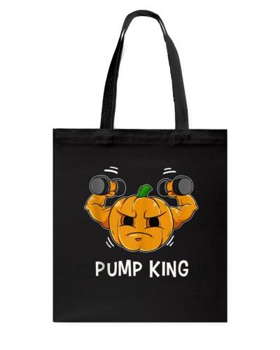 Pump King Pumpkin Gourd Halloween Fitness Muscle