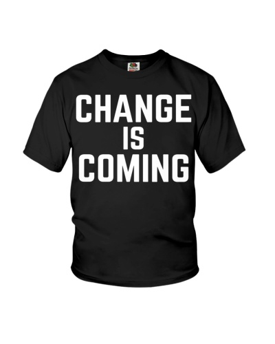 Change Is Coming Bernie Sanders Presidential