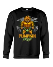Halloween Gym Workout Pumpkin Iron Motivation Men  Crewneck Sweatshirt thumbnail