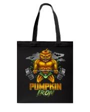 Halloween Gym Workout Pumpkin Iron Motivation Men  Tote Bag thumbnail