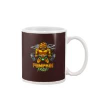 Halloween Gym Workout Pumpkin Iron Motivation Men  Mug thumbnail