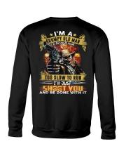 I'm A Grumpy Old Man Too Old To Fight Crewneck Sweatshirt thumbnail