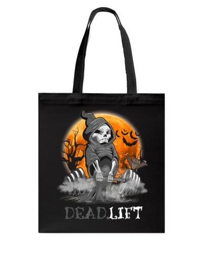 Weight Lifting Death Deadlift Halloween Gift Shirt
