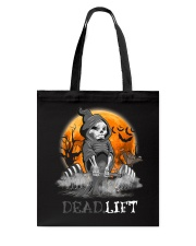 Weight Lifting Death Deadlift Halloween Gift Shirt Tote Bag tile