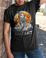 Weight Lifting Death Deadlift Halloween Gift Shirt Classic T-Shirt apparel-classic-tshirt-lifestyle-27
