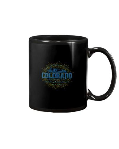 Vintage Retro Style Colorado