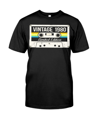 Vintage 1980 Made in 1980 40th birthday 40 years