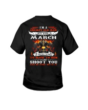 I'm a grumpy old man I was born in March Youth T-Shirt thumbnail