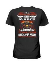 I'm a grumpy old man I was born in March Ladies T-Shirt thumbnail