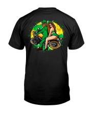 Irish Motorcycle Shirt Biker Couple Classic T-Shirt thumbnail