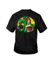 Irish Motorcycle Shirt Biker Couple Youth T-Shirt thumbnail