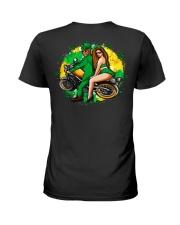 Irish Motorcycle Shirt Biker Couple Ladies T-Shirt thumbnail