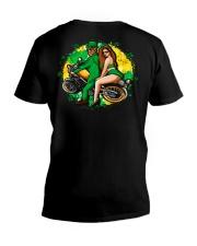 Irish Motorcycle Shirt Biker Couple V-Neck T-Shirt thumbnail