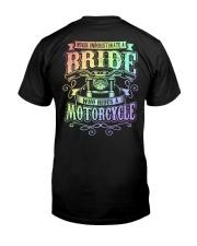 Sexy Biker Never Underestimate Bride Motorcycle Premium Fit Mens Tee thumbnail