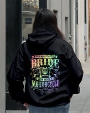 Sexy Biker Never Underestimate Bride Motorcycle Hooded Sweatshirt lifestyle-unisex-hoodie-back-2