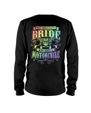 Sexy Biker Never Underestimate Bride Motorcycle Long Sleeve Tee thumbnail