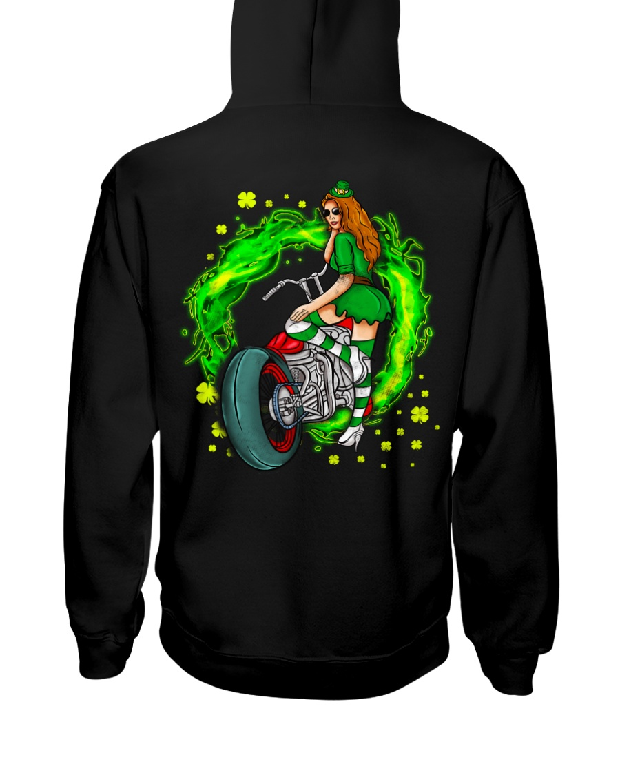 Irish Motorcycle Hooded Sweatshirt