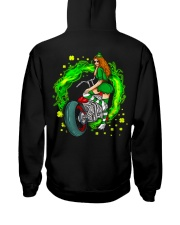 Irish Motorcycle Hooded Sweatshirt back