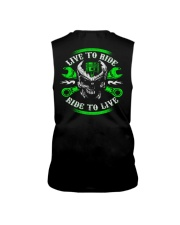 Live To Ride To Live Skull Biker Sleeveless Tee thumbnail