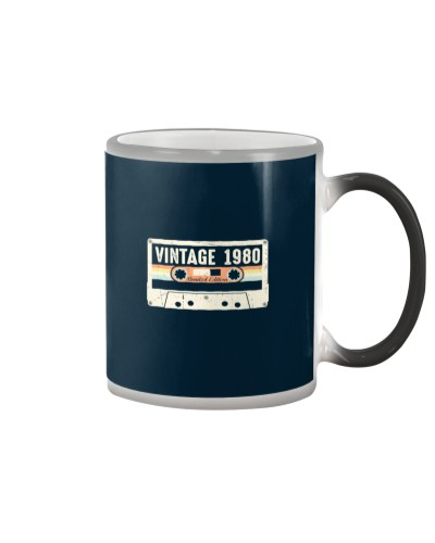 Vintage 1980 Made in 1980 40th