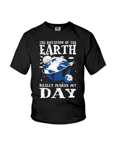 Earth Rotation Makes Day Green
