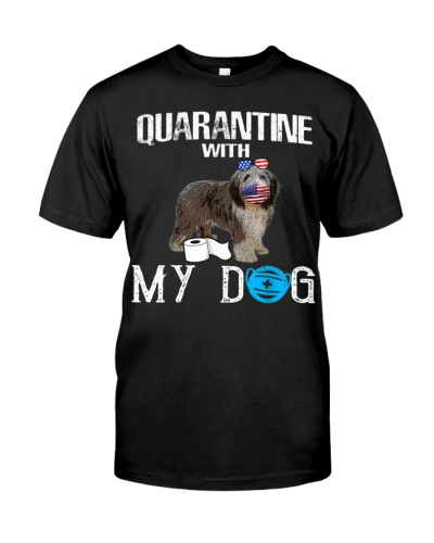 Old English Sheepdog Dog Quarantine With My Dog