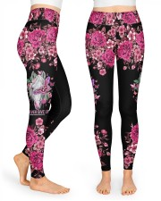 Never Give Up High Waist Leggings front
