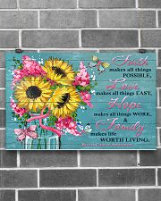 Faith Love Hope Family 17x11 Poster poster-landscape-17x11-lifestyle-18