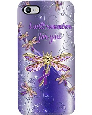 I will remember for you Metal pattern print Phone Case i-phone-8-case