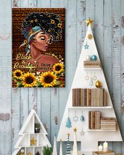 Black is beautiful 11x17 Poster lifestyle-holiday-poster-2