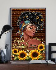 Black is beautiful 11x17 Poster lifestyle-poster-2