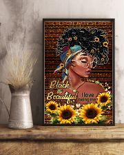Black is beautiful 11x17 Poster lifestyle-poster-3