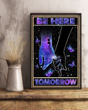 Be here tomorrow 11x17 Poster lifestyle-poster-3
