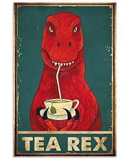 Tea rex 11x17 Poster front