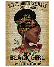 Never underestimate the power of a black girl 11x17 Poster front
