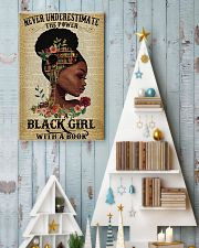 Never underestimate the power of a black girl 11x17 Poster lifestyle-holiday-poster-2