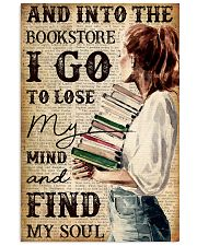 And into the book store 11x17 Poster front
