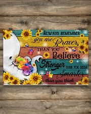 Always remember you are 17x11 Poster poster-landscape-17x11-lifestyle-14