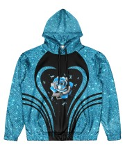 Faith hope love  Men's All Over Print Hoodie front