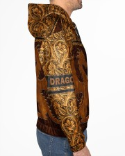 Dragon Leather pattern print Men's All Over Print Hoodie aos-complex-men-hoodie-lifestyle-right-01