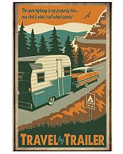 Travel by trailer 11x17 Poster front