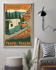 Travel by trailer 11x17 Poster lifestyle-poster-1