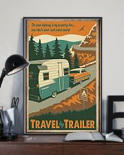 Travel by trailer 11x17 Poster lifestyle-poster-2