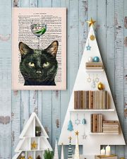 Black cat gin poster 11x17 Poster lifestyle-holiday-poster-2