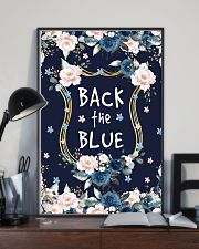 Back the blue 11x17 Poster lifestyle-poster-2