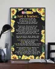Just a teacher 11x17 Poster lifestyle-poster-2